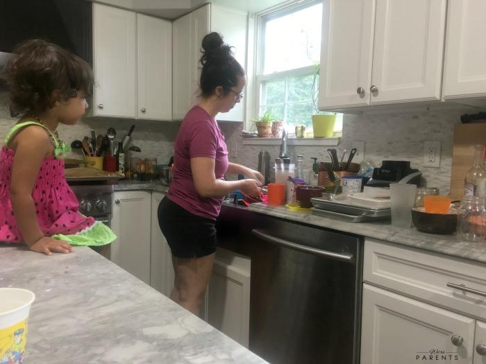 messy motherhood moments