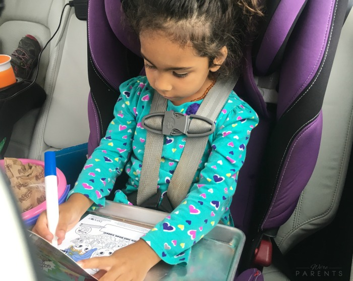 tips for long car rides with kids
