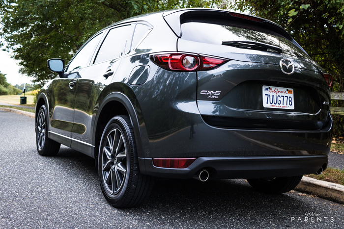 how many seats is the mazda cx-5