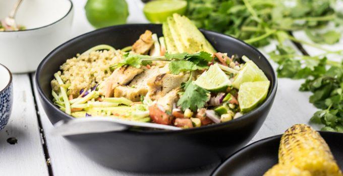 Chicken Quinoa Bowl