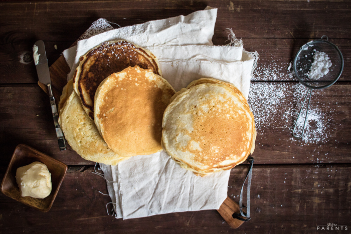 easy homemade pancakes recipe