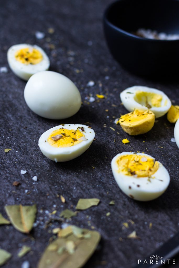 easy way to make hardboiled eggs
