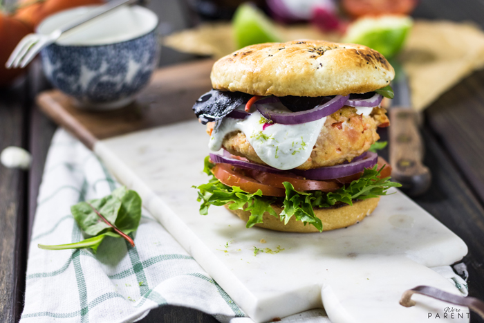 salmon burger sauce