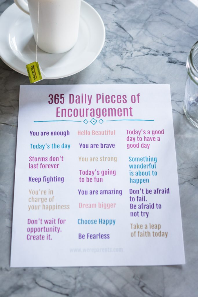 365 daily encouragement