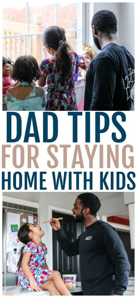 easy dad tips for staying home with kids