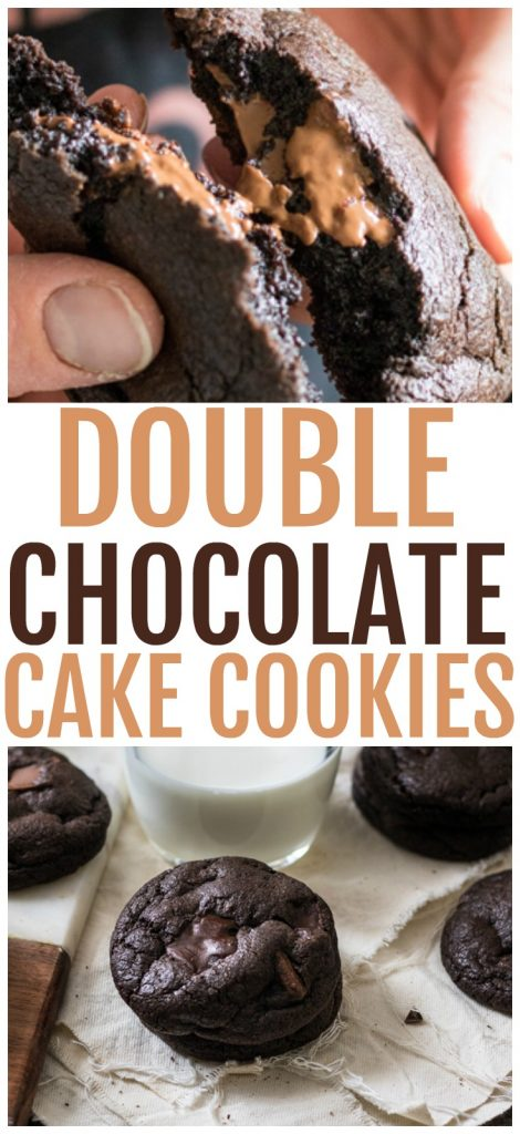extra chocolate cake cookies recipe