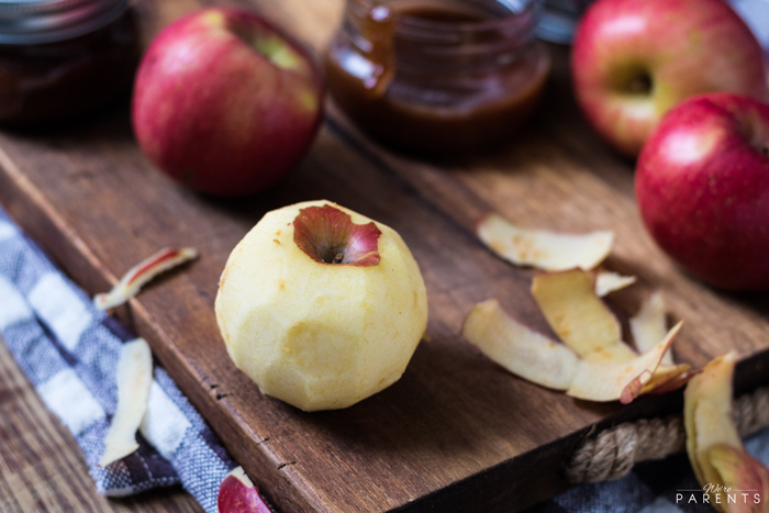 how to make caramel apple sauce