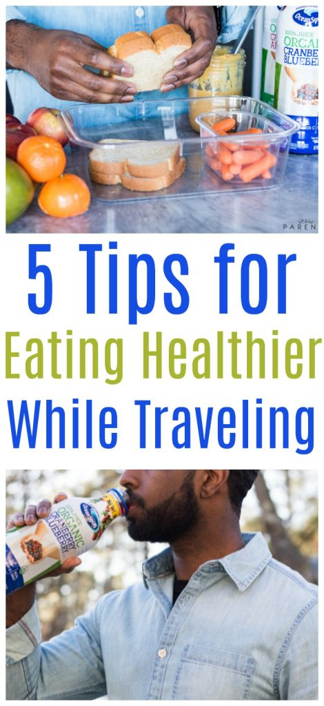 tips for eating healthier while traveling