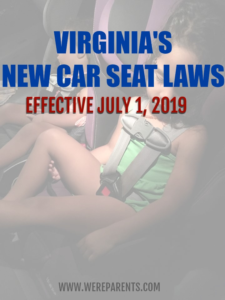 virginia's new car seat laws