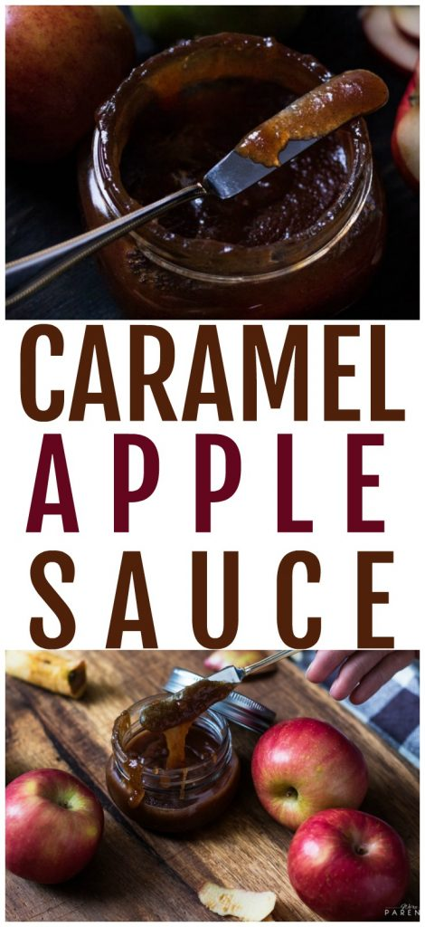 how to make caramel apple sauce recipe
