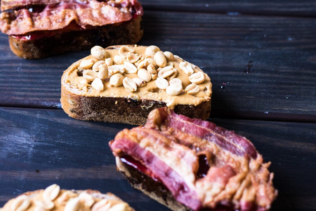peanut butter and jelly sandwich ideas