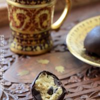 Chocolate Chip Banana Cookie Dough Truffles