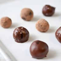 Salted Chocolate Stout Truffles