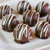 Raspberry Chocolate Truffles & Drunken Cherries {Party Series 6}