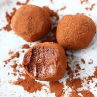 Vegan Chocolate Truffles (GF)