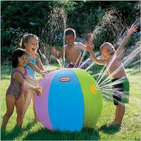 Giant Sprinkler Inflatable Beach Ball