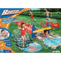 Aqua Blast Obstacle Course
